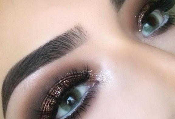 آرایش چشم ریز lupita lemus برای عروس