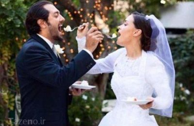 شایعه عکس های عروسی بهرام رادان تو کالیفرنیا