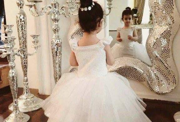 عکس دختر محسن یگانه در لباس عروس