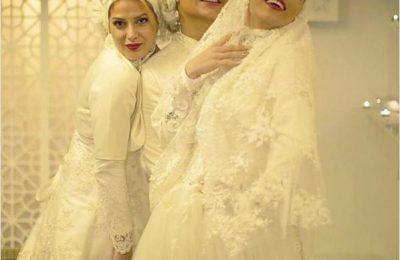 عکس سه بازیگر سرشناس در لباس عروس