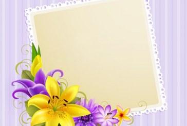 عکس کارت پستال گل