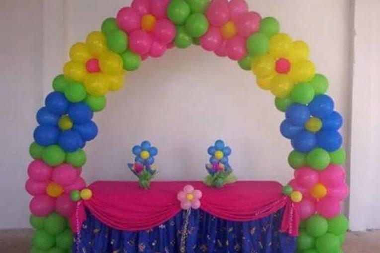 مدل تزیین بادکنک برای عروسی و جشن تولد