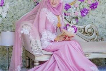 مدل لباس عروس به سبک اسلامی۲۰۱۸