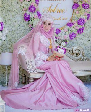 مدل لباس عروس به سبک اسلامی2018