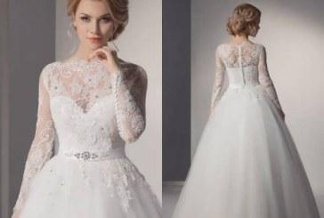 مدل لباس عروس کوتاه فرانسوی