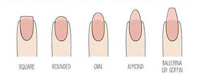 مدل ناخن مناسب دست های عروس را انتخاب کنید