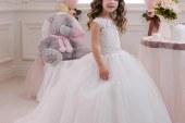 مدل لباس عروس بچه گانه ۱۳۹۶