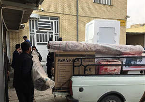 دادن جهیزیه به زوجهای نیازمند در مساجد تهران