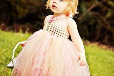 عکس دختر بچه های ناز در لباس عروسی