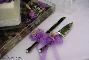 تزیین چاقوی کیک عروسی۹۵ – سری اول