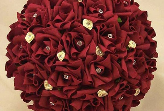 جدیدترین و شیک ترین مدل دسته گل عروس۲۰۱۷