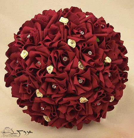 شیک ترین مدل دسته گل عروس،دسته گل عروس