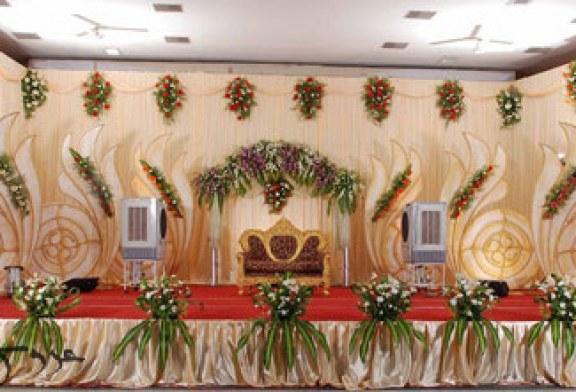 چیدمان و تزیین جایگاه عروس و داماد۹۵