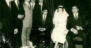 عکس/ عروسی غلامرضا تختی در سال ۱۳۴۵