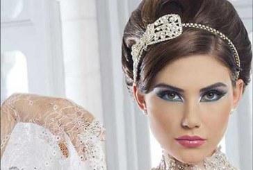 جدیدترین مدل آرایش زیبا عروس۹۵