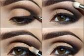 آموزش تصویری آرایش چشم مدل ۲۰۱۴ بهمراه توضیح برای دختر ایرانی