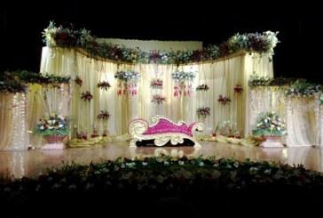 چیدمان و تزیین جایگاه عروس و داماد جدید ۲۰۱۶