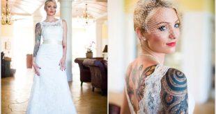 لباس عروس خالکوبی