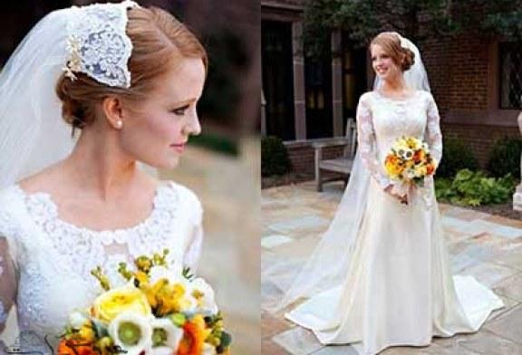 زیباترین عروس شدن