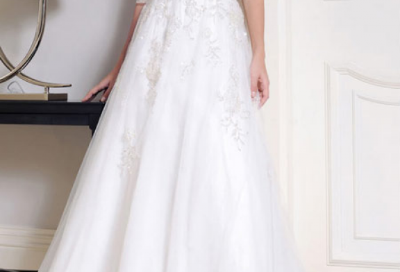 مدل لباس عروس پوشیده سال ۹۵