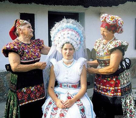 مراسم ازدواج , تصاویر لباس عروس در کشورهای مختلف