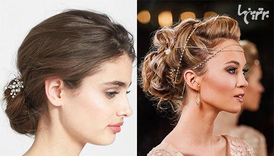 زیباترین مدل موی عروس برای بهار 2017