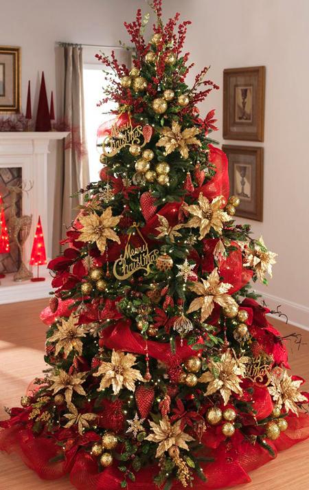 تزیین کردن درخت کریسمس, مدل تزیین درخت کریسمس