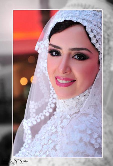 مدل تور عروس محجبه و باحجاب95