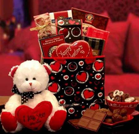 تزیین گیفت های روز ولنتاین,هدایای روز ولنتاین
