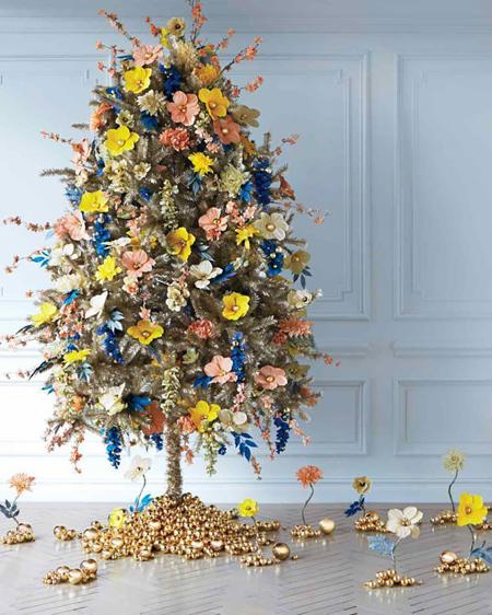 روش تزیین درخت کریسمس,درخت کریسمس