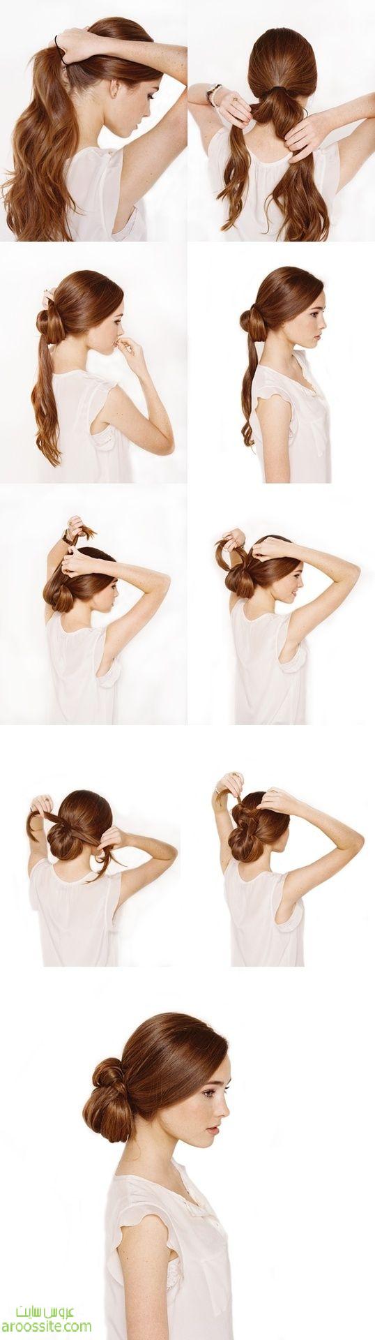 آموزش مرحله به مرحله مدلهای آرایش مو و بستن مو به صورت تصویری 2014 سری دوم
