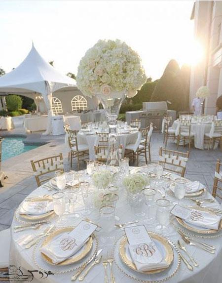 تزیینات شیک و ساده جشن عروسی,تزیینات مراسم جشن عروسی