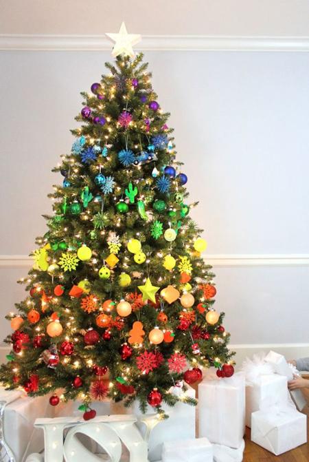 تزیین کاج کریسمس, طرز تزیین کاج کریسمس