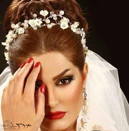 جدیدترین مدل آرایش زیبا عروس95