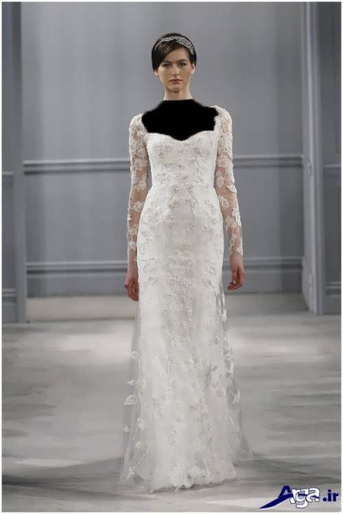 مدل لباس عروس گیپور فرانسوی