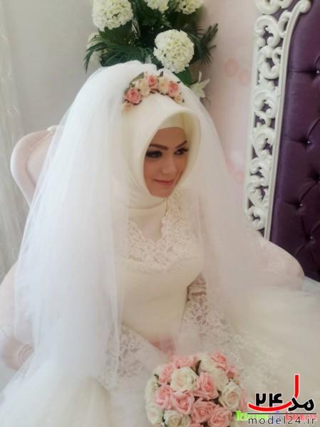لباس عروس باحجاب