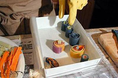 ساخت و تزیین صابون عروس, تزیین صابون عروس