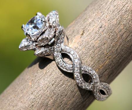 انگشترهای جواهر, مدل انگشترهای جواهر
