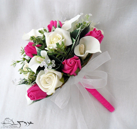 عکس دسته گل عروس,انواع دسته گل عروس,دسته گل عروس