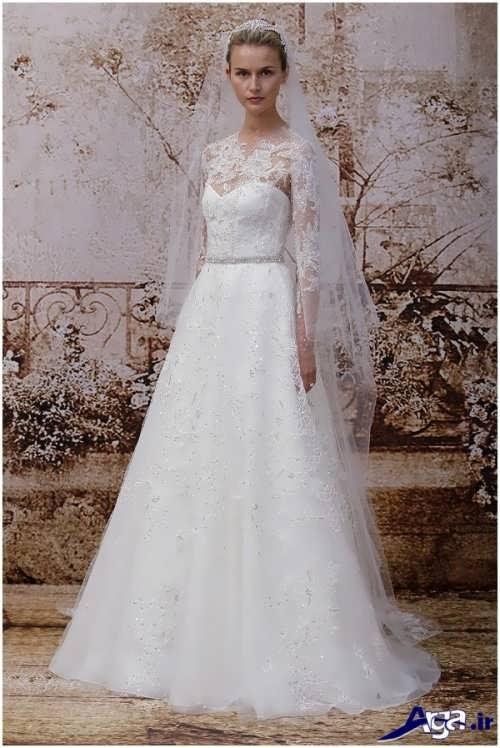 مدل لباس عروس بلند و شیک