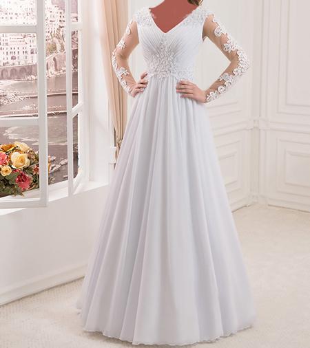 مدل های سال۹۶ شیک ترین لباس عروس های آستین دار سال96