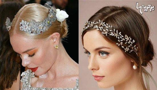 با این اکسسوری های مو، زیباترین عروس شوید