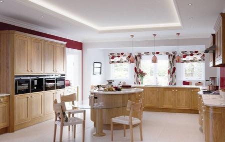 پرده آشپزخانه ساده, مدل پرده آشپزخانه گل گلی
