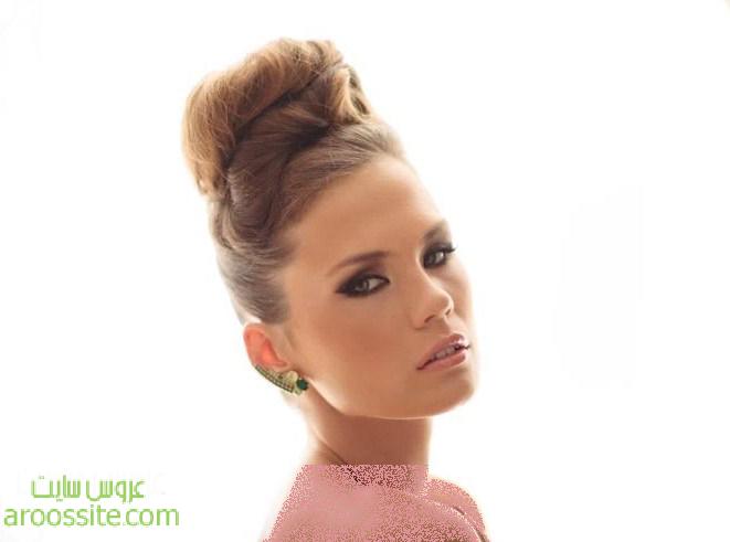 آرایش و مدل موی عروس اروپا جدید و زیبا 2014 | ArousSite.ir