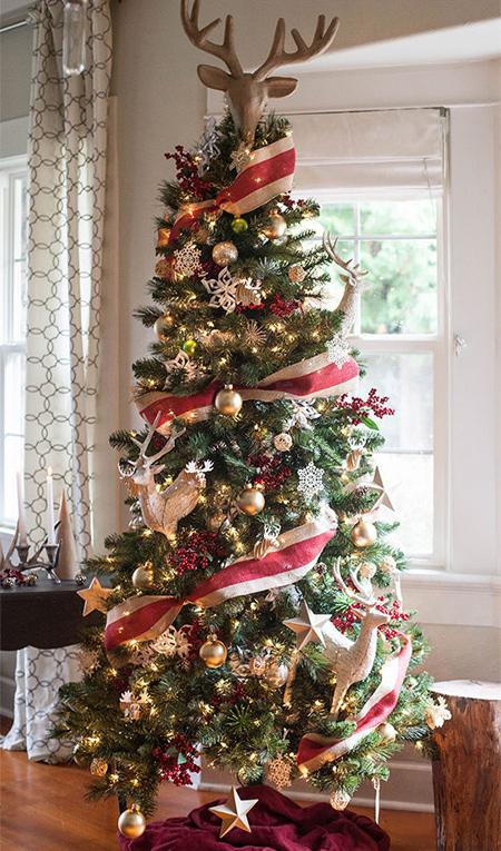 درخت کریسمس,تزیین درخت کریسمس