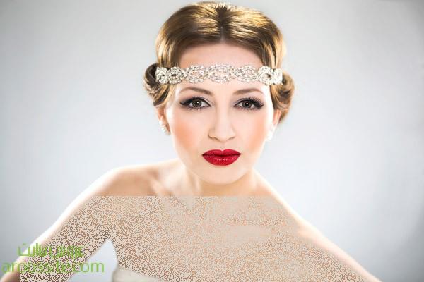آرایش و مدل مو اروپایی شیک 2014 | ArousSite.ir