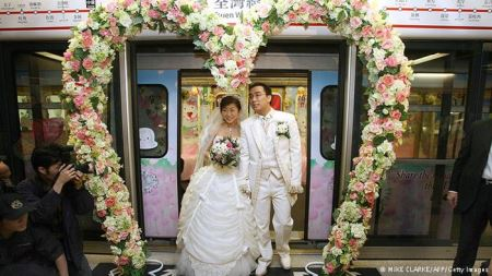 عجیب و غریب ترین عروسی های دنیا  (عکس)