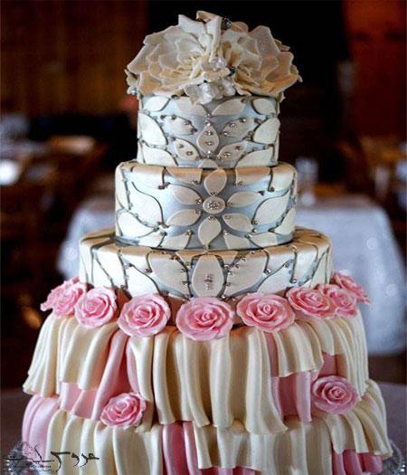 نمونه کیک عروسی95