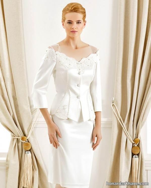 مدل لباس عروس روز عقد