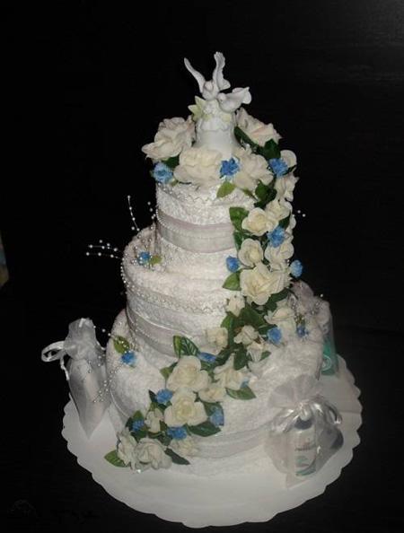 مدل حوله عروس و داماد, تزیین حوله عروس و داماد